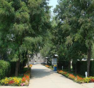 少林寺学校走廊