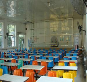 少林寺武术学校餐厅