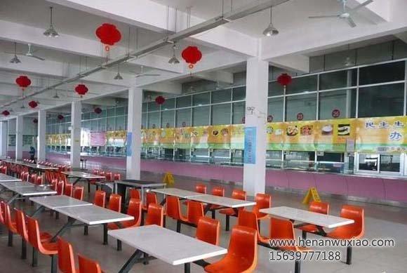 校区餐厅全貌